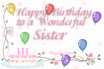Birthday Wishes Animated Cards For Sister In Law Best Gre Happy
