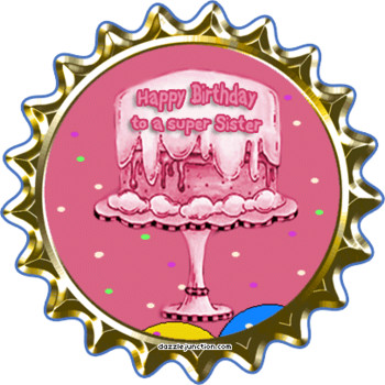 Dazzle junction birthday sister bottlecap birthday sister...