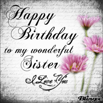Happy birthday sister animated pictures for sharing #1258...