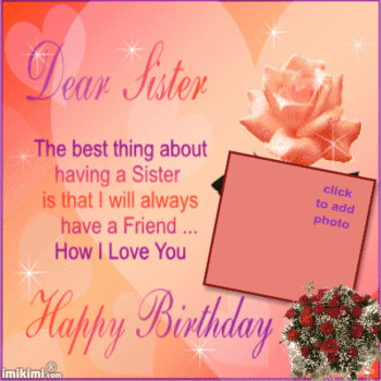 Happy birthday sister gif cool images