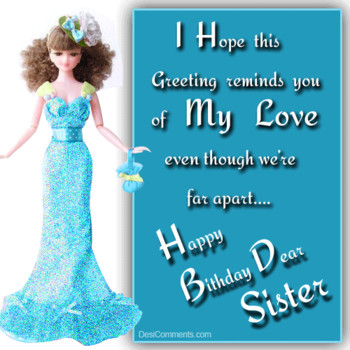 Happy birthday dear sister desments