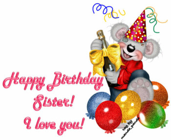 Happy birthday sister in law ecard greetingshare - Happy birthday