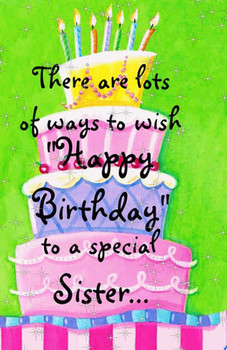 Happy Birthday Sister Animated Pictures For Sharing 1258