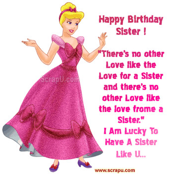 Happy birthday sister in law clipart