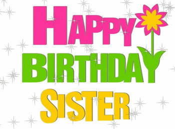 Birthday wishes to sister greeting cards happy birthday w...