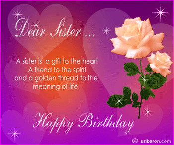 Image result for animated happyirthday sister messages