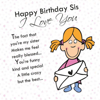 Funny Happy Birthday Images For Sister Free Happy Bday Pictures And Photos Bday Card Com