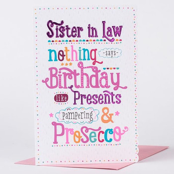 HAPPY BIRTHDAY SISTER IN LAW ECARD 2 Greetingshare
