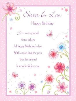 Happy Birthday Sister In Law Iamyoursnowcom