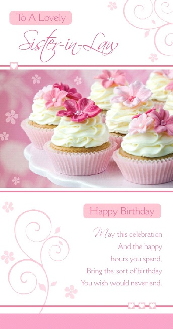 Sister Birthday Greetings Happy Birthday Images For Sister In Law