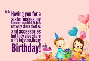 Top 60 images about sweet birthday wishes for sister – bi...