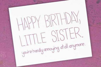 The 105 happy birthday little sister quotes and wishes