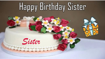 Happy birthday sister image wishes✓ youtube