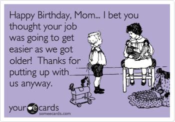 Funny Happy Birthday Meme For Mom Feeling Like Party Happy