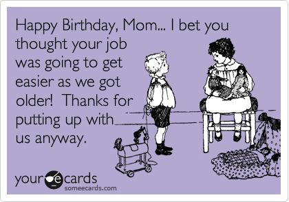 Birthday Card Printable Funny For Mom Free