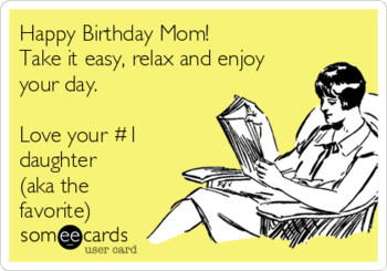 Birthday Letter To Mom From Daughter Letters Font