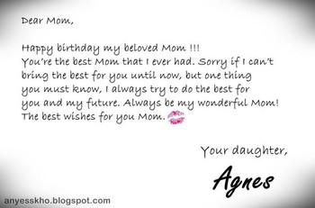 Birthday quotes happy birthday my angel mother heaven hol    - Happy
