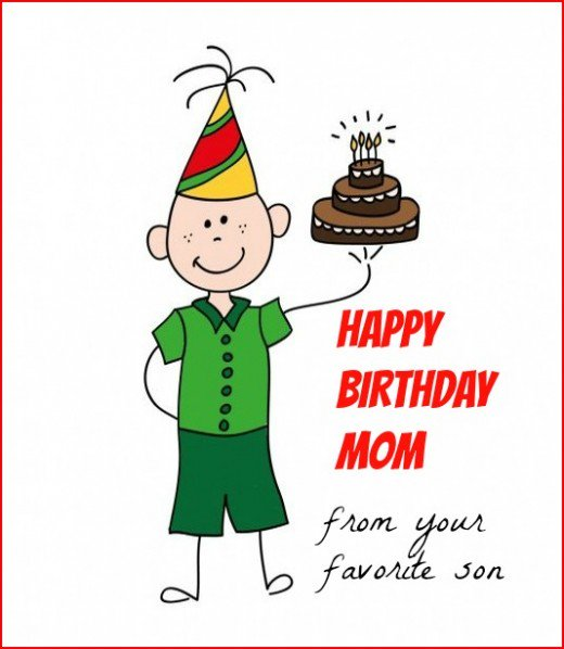 Happy Birthday Mom Wishes For Funny Cards And