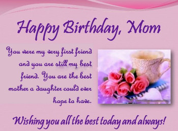 60 Unique happy birthday wishes for mom with images 9 hap...