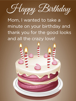 Birthday cake cards for mother birthday amp greeting card...