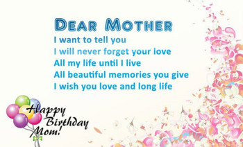 Best heart touching birthday greetings for mom – students...