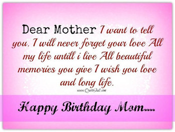Happy birthday mom meme quotes and funny images for mother