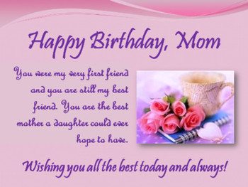 Happy birthday mom quotes birthday quotes for mother