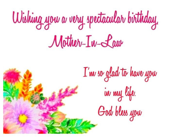Happy birthday mother in law images greetingshare