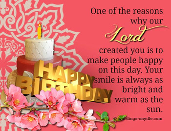 Christian birthday wordings and messages wordings and mes...