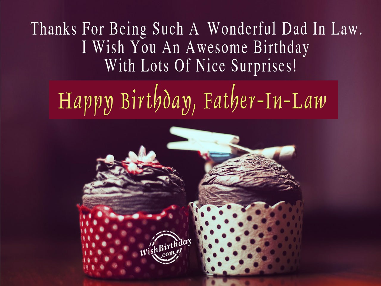 Happy Birthday Father In Law Images