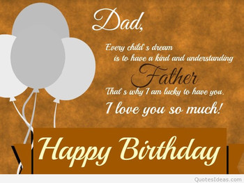 Birthday Images For Father From Daughter