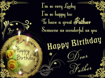 Happy birthday dear father pictures photos and images for