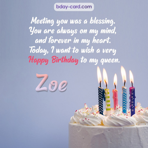 Bday pictures to my queen Zoe