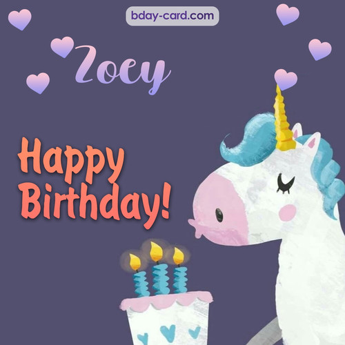 Funny Happy Birthday pictures for Zoey