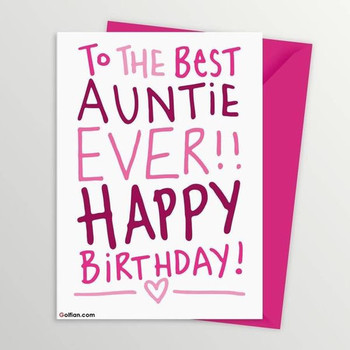 Happy Birday Auntie Wishes wi Images