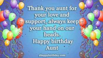 Happy Birday Auntie Wishes amp Quotes HappyBirday