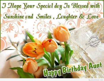 Happy Birday Aunt Quotes Happy Birday Images