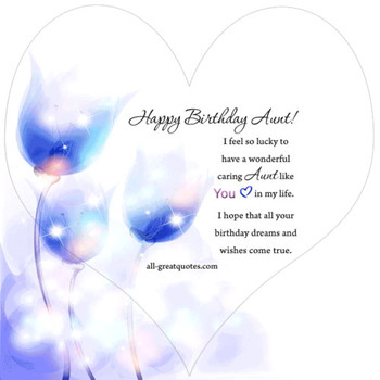 Happy Birday Aunt Animated Aunt Birday Card Share Facebook