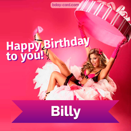 Birthday images for Billy with lady