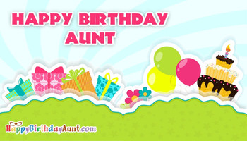 Happy Birday Aunt From Nephew HappyBirdayAunt com