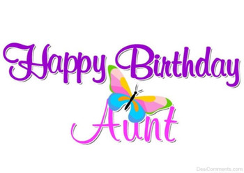 Happy Birday Aunt Image