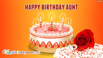 Happy Birday Aunt Rose HappyBirdayAunt Com