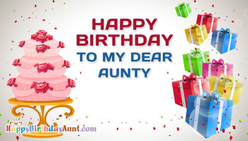 Happy Birday To My Dear Aunty HappyBirdayAunt com