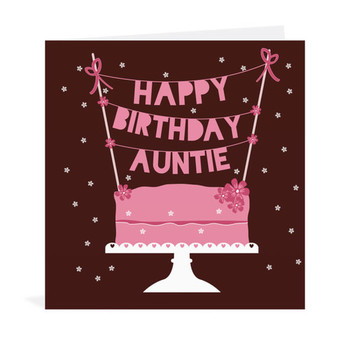 Happy Birday Aunt Clipart