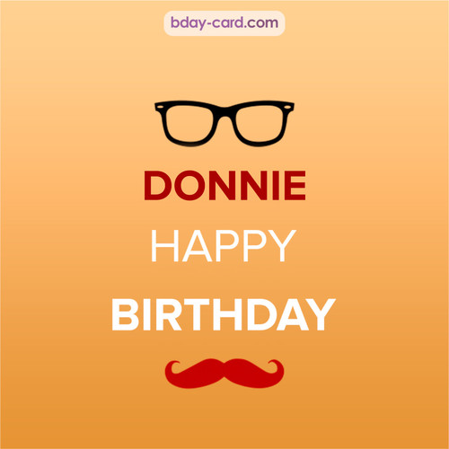 Happy Birthday photos for Donnie with antennae