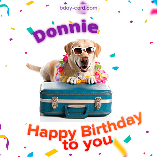 Funny Birthday pictures for Donnie