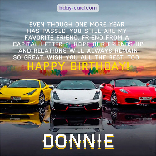 Birthday pics for Donnie with Sports cars
