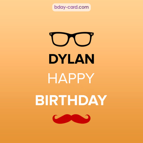 Happy Birthday photos for Dylan with antennae