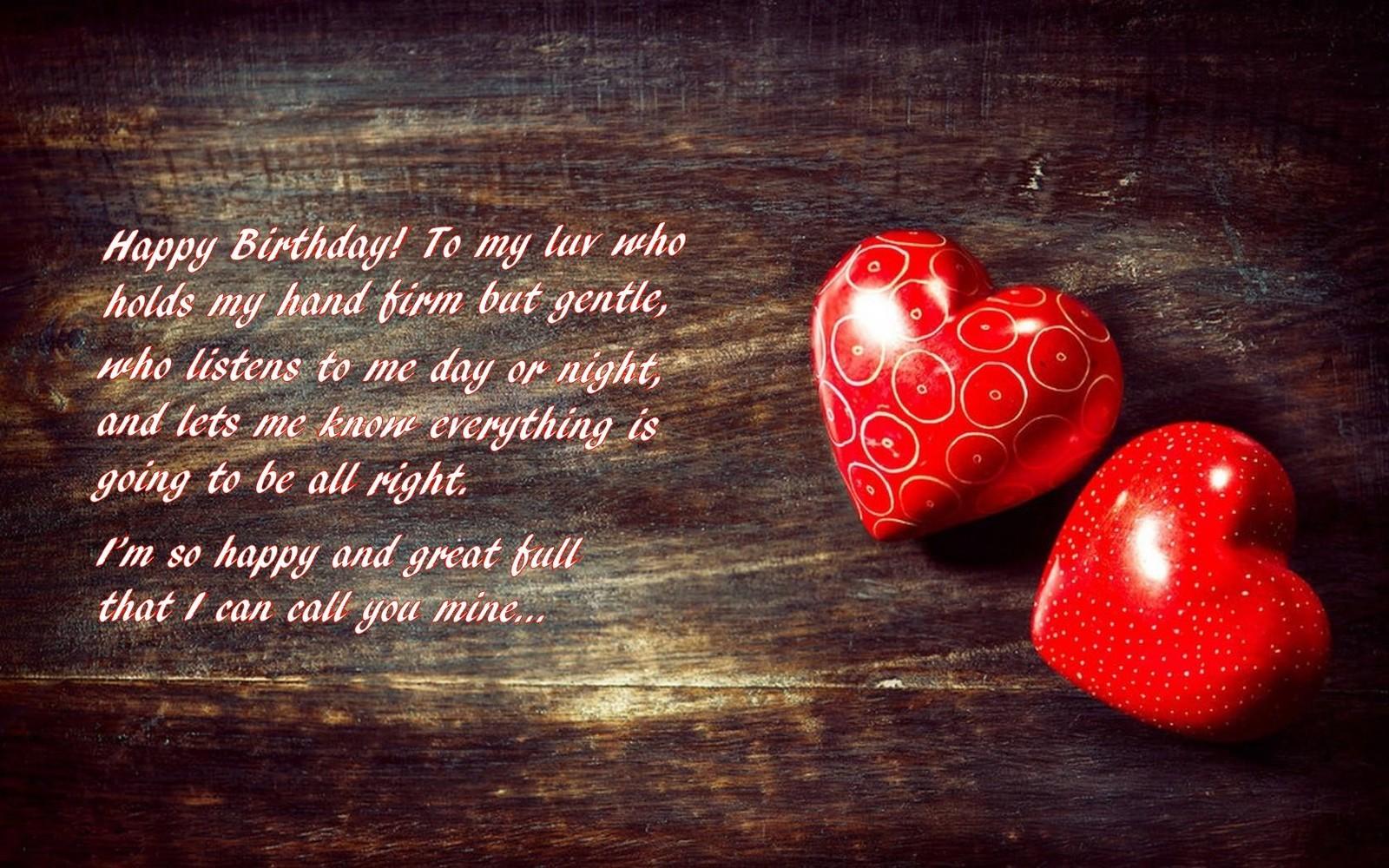 Inspirational Romantic Happy Birthday Love Quotes For Him