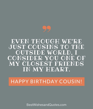 Happy Birday Cousin Ways to Wish Your Cousin a Super Birday